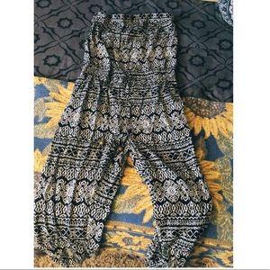 Bohemian-Printed Pantsuit